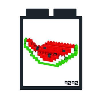 LOZ 鑽石積木-9292【水果系列】西瓜  益智趣味 腦力激盪