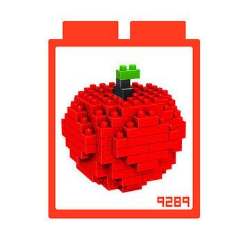 LOZ 鑽石積木-9289【水果系列】蘋果 益智趣味 腦力激盪