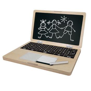 【德國EICHHORN】原木筆電造型練字板/畫板