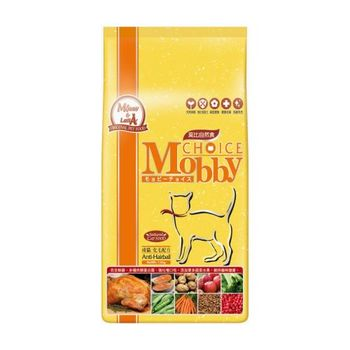 【Mobby】莫比 成貓化毛專用配方 自然食飼料 1.5公斤 X 1包