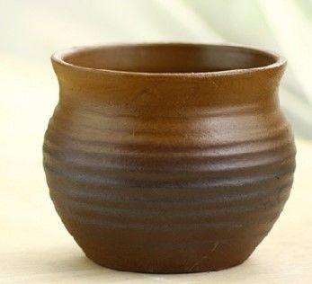 花瓶花器/肉肉日式仿柴窯