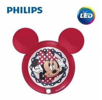 Philips飛利浦 迪士尼魔法燈-LED感應式夜燈-米妮