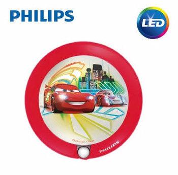 PHILIPS 飛利浦 迪士尼魔法燈 LED感應式夜燈-汽車總動
