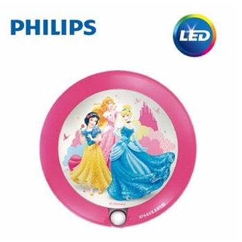 PHILIPS 飛利浦 迪士尼魔法燈 LED感應式夜燈-迪士尼公主