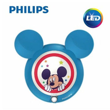PHILIPS 飛利浦 迪士尼魔法燈 LED感應式夜燈-米奇