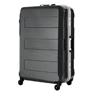 日本 LEGEND WALKER 6021-70-29吋 電子秤鋁框輕量行李箱 黑色