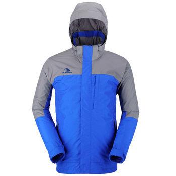 【聖伯納 St.Bonalt】男-FuseTex單層防風防水外套-寶藍(3003)