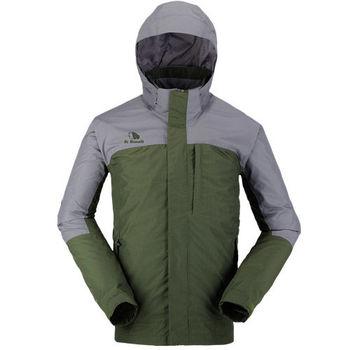 【聖伯納 St.Bonalt】男-FuseTex單層防風防水外套-深綠(3003)