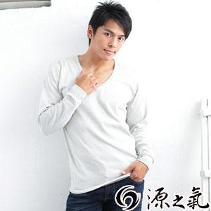 【源之氣】竹炭男長袖衛生衣(超值2入) RM-10048
