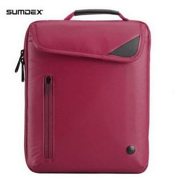 【SUMDEX】NRN-236AM iPad都會- 輕炫主義多功數位包 - 琉璃紅