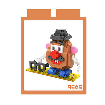 LOZ 鑽石積木 【卡通系列】9505-蛋頭先生 益智玩具 趣味 腦力激盪