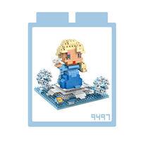 LOZ 鑽石積木 ~可愛卡通系列~9497 #45 艾莎 益智玩具 趣味 腦力激盪