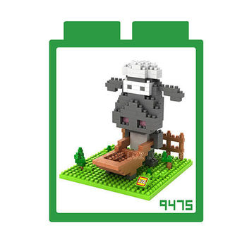 LOZ 鑽石積木 【電影卡通系列】9475-Q版尚恩 益智玩具 趣味 腦力激盪
