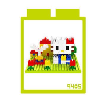 LOZ 鑽石積木 【場景系列】9405-噴泉 益智玩具 趣味 腦力激盪