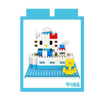 LOZ 鑽石積木 【場景系列】9406-海軍 益智玩具 趣味 腦力激盪