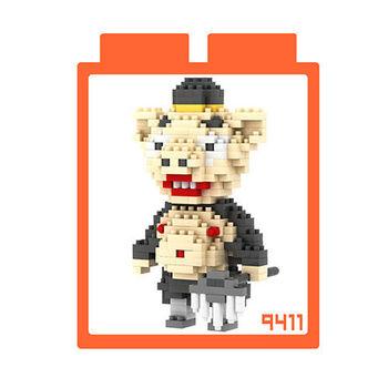LOZ 鑽石積木 【西遊記系列】9411-豬八戒 益智玩具 趣味 腦力激盪