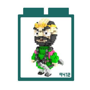 LOZ 鑽石積木 【西遊記系列】9412-沙僧 益智玩具 趣味 腦力激盪
