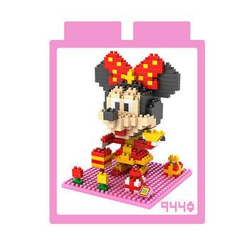LOZ 鑽石積木 【賀歲卡通系列】9440-米妮 益智玩具 趣味 腦力激盪