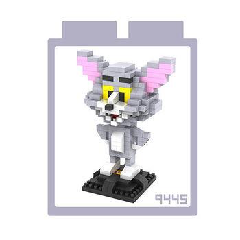 LOZ 鑽石積木 【經典卡通系列】9445-湯姆 益智玩具 趣味 腦力激盪
