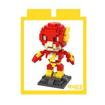 LOZ 鑽石積木 【超級英雄系列】9453-閃電俠 益智玩具 趣味 腦力激盪