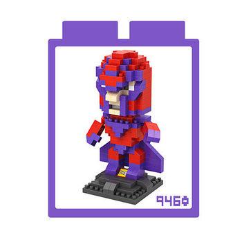 LOZ 鑽石積木 【X戰警系列】9460-萬磁王 益智玩具 趣味 腦力激盪