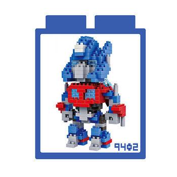 LOZ 鑽石積木 【變形金剛系列】9402-柯博文 益智玩具 趣味 腦力激盪