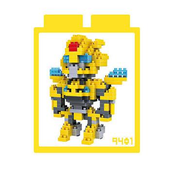 LOZ 鑽石積木 【變形金剛系列】9401-大黃蜂 益智玩具 趣味 腦力激盪