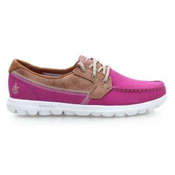 【SKECHERS】ON-THE-GO-BREEZY 女休閒健走鞋 紫咖啡