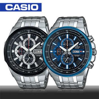 【CASIO 卡西歐 EDIFICE 系列】賽車時尚魅力紳士腕錶(EFR-549D)