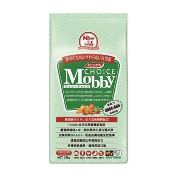 【Mobby】莫比 小型幼母犬 雞肉米 自然食 1.5公斤 X 1包