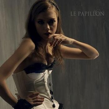 【LE PAPILLON】法式香榭蕾絲罩杯馬甲