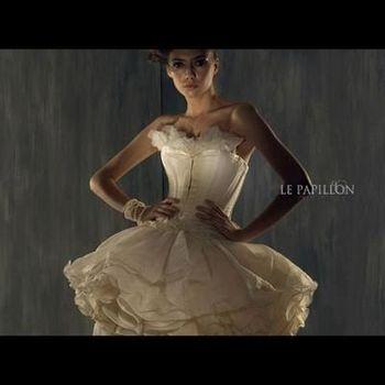 【 LE PAPILLON 】雪紡芭蕾公主馬甲小禮服(柯夢波丹雜誌款)