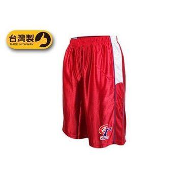 【BRETT】男中華台北訓練短褲-台灣製 五分褲 運動短褲 紅白