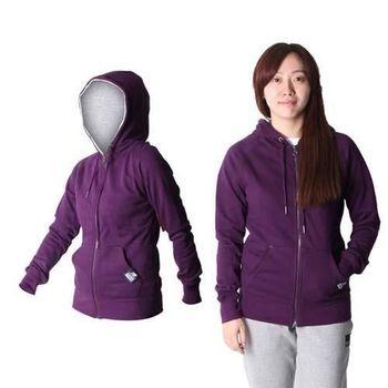 【NEWBALANCE】NEW BALANCE女款連帽外套 NB 休閒外套  深紫
