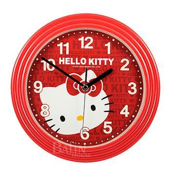【Hello Kitty】甜美字母 超靜音掛鐘 JM-5613-KT