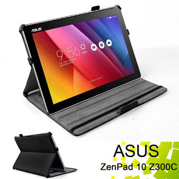 華碩 ASUS ZenPad 10 Z300C Z300CL 專用薄型可手持帶筆插平板電腦皮套 保護套