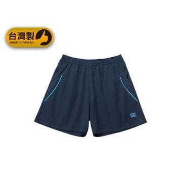 【FIRESTAR】男運動短褲-台灣製 慢跑 路跑 運動短褲  丈青水藍