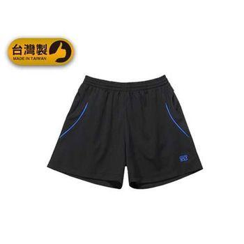 【FIRESTAR】男運動短褲-台灣製 慢跑 路跑 運動短褲  黑寶藍