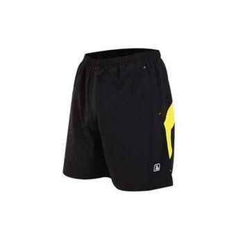 【HODARLA】FIGHTER 男女平織短褲 慢跑 路跑 五分褲 台灣製 黑黃