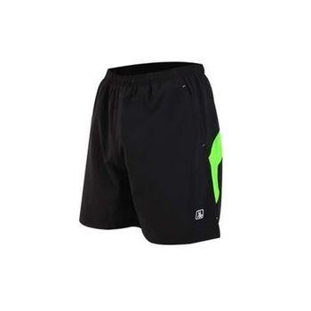 【HODARLA】FIGHTER 男女平織短褲 慢跑 路跑 五分褲 台灣製 黑綠