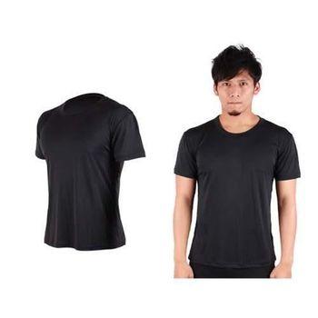 【HODARLA】FLARE 300 男女排汗衫 短袖T恤 涼感 台灣製  黑