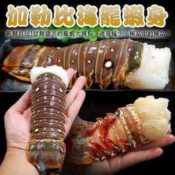 【築地一番鮮】蔚藍海-加勒比海龍蝦身3隻(220g±10%/隻)免運組