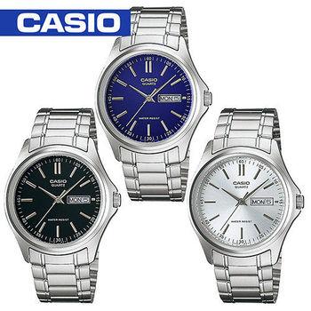 【CASIO 卡西歐】白領階級/上班族/紳士石英男錶(MTP-1239D)