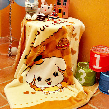 義大利Fancy Belle《快樂時光》雙層雪芙絨兒童毯100*110CM