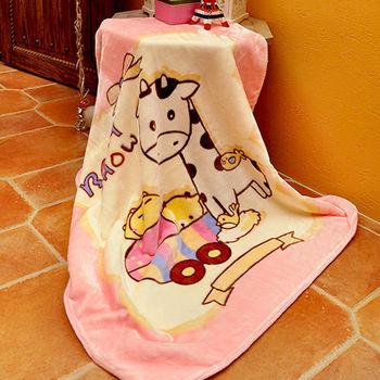 義大利Fancy Belle《歡樂家族》雙層雪芙絨兒童毯100*110CM