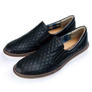 PLAYER 機縫幾何百搭懶人鞋   (FTP17) 黑色