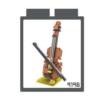 LOZ 鑽石積木 【樂器系列】9196-小提琴 益智玩具 趣味 腦力激盪