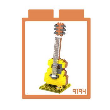 LOZ 鑽石積木 【樂器系列】9194-木吉他 益智玩具 趣味 腦力激盪