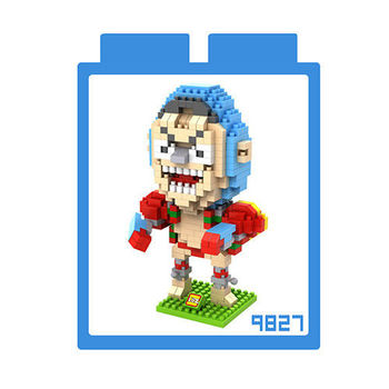 LOZ 鑽石積木 【戰鬥卡通系列】9827-佛朗基 益智玩具 趣味 腦力激盪