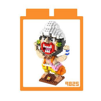 LOZ 鑽石積木 【戰鬥卡通系列】9825-騙人布 益智玩具 趣味 腦力激盪